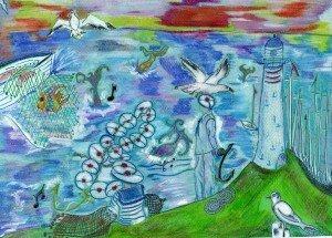 """illustration"""" des cordes navales"""" de .valériebonnenfant.fr écrivain de contes pour enfants"""