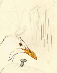 """création d illustration pour """"les cordes navales """" de valériebonnenfant.fr merveilleuses conteuse pour enfant."""